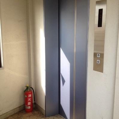 エレベータ―改修工事後