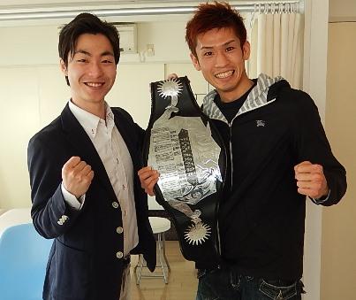 ストレッチナビの小川様と前田選手