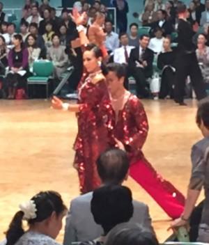 木村・千田ペアラテン・競技3