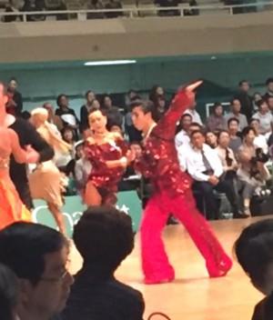 木村・千田ペアラテン競技1