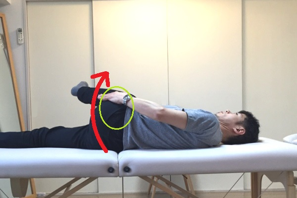 写真4(主に中殿筋・大腿筋膜張筋など)