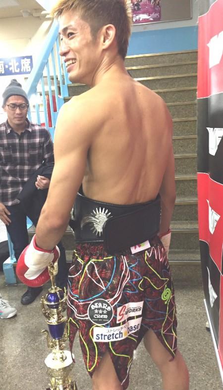 前NJKFバンタム級チャンピオン 前田浩喜選手
